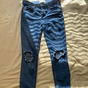 Free People jeans - new worn once